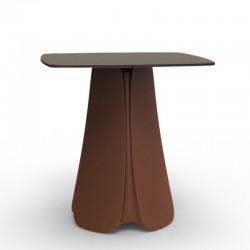 Table Design Pezzettina Vondom Blanc 70x70xH73