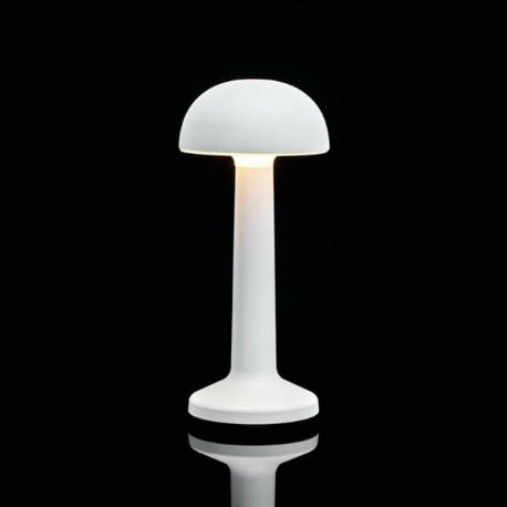 Luminaire de Table Imagilights Led Sans Fil Collection Moments Blanc Dôme