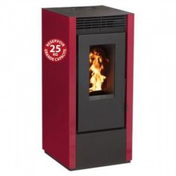 Interstoves 10Kw Marina Bordeaux Economic Granule Stove