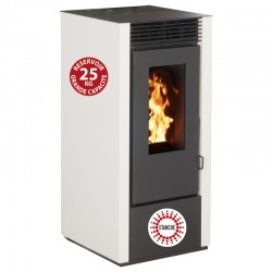 Granules Etanche Interstoves 11Kw Marina White