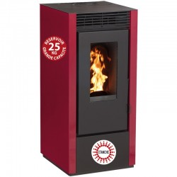 Granules Stove Connected Etanche Interstoves 11Kw with Wifi Marina Bordeaux