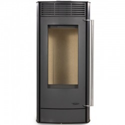 Interstoves 6Kw Steel Black Europa Wood Stove