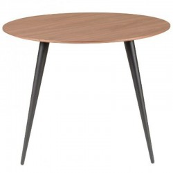 Round Meal Table 100 in Ypso KosyForm Walnut