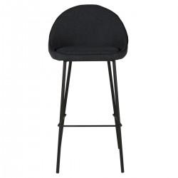 Viele 2 Bar Stühle in dunkelgrau Stoff Aya KosyForm