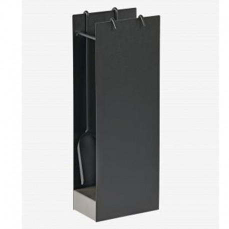 Serviteur Icar Noir Socle Gris Dixneuf Design