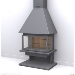 Face FocGrup Steel Chimney and Refractory Brick
