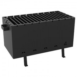 COAL and Wood FM BBD BB-40 Steel Barbecue
