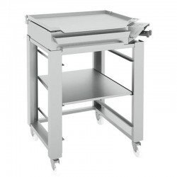 Plancha to Gas for Paelle 9.4 Kw on Inox Furniture