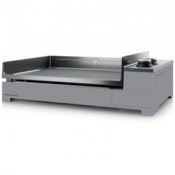 Plancha Gaz Forge Adour Premium Steel 60 Black and Grey