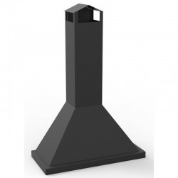 Electric Metal FM CB-100 Outdoor Hotte Chimney for Barbecue