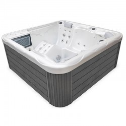 Spa Wellis Pluton Blanc Perle Gris 5 Places Myline Spa