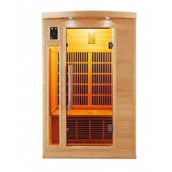 Infrared sauna Apollo 2 seats - Selection VerySpas