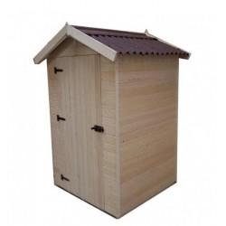 Eden Habrita Wood Garden Shelter 1.20 x1,20x2.03m with floor