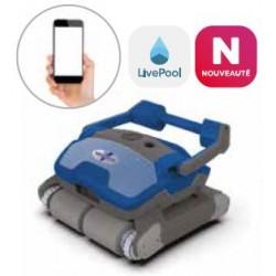 ROBÔ LIMPADOR DE piscina elétrica VIRTUOSO V600A com aplicativo para smartphone