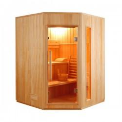 Sauna Vapeur Zen Angulaire 3-4 places - Selection VerySpas