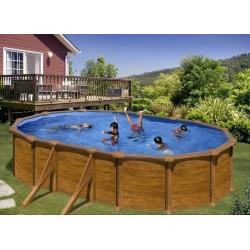 Pool Off Circular Floor Toi Anthracite Prestigio 460×132 cm