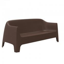 Canapé de jardin Vondom Solid sofa bronze