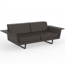 Canapé Vondom Delta sofa bronze 3 places