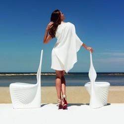 Chaise de jardin BIOPHILIA Vondom - Blanc