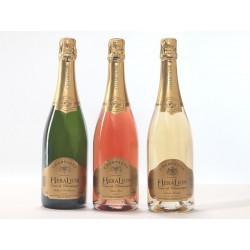 粉红香槟 HeraLion 混合选择黄金光泽和葡萄酒-3 Btles 欲望