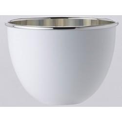 وعاء وعاء للشمبانيا مصقول بيوتر OA1710 أبيض