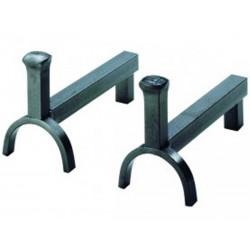 Andirons Lexic окрашенный стальной девятнадцать дизайн
