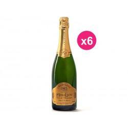 HeraLion de champagne brilho de ouro Brut Reserva (caixa de 6)