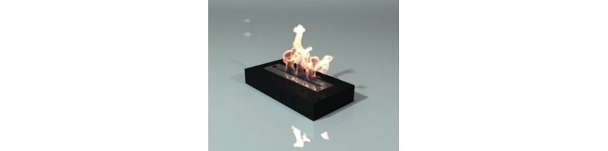 Burners and bio-ethanol fireplaces