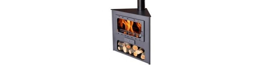 Wood-burning chimneys